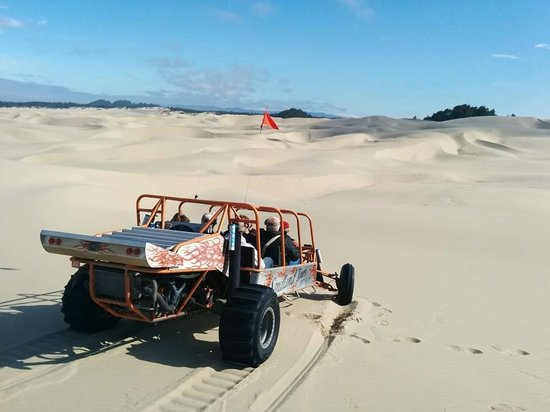 Florence, Oregón: great day on the dunes
