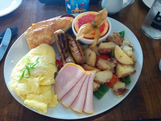The Joint Cafe: big breakfast