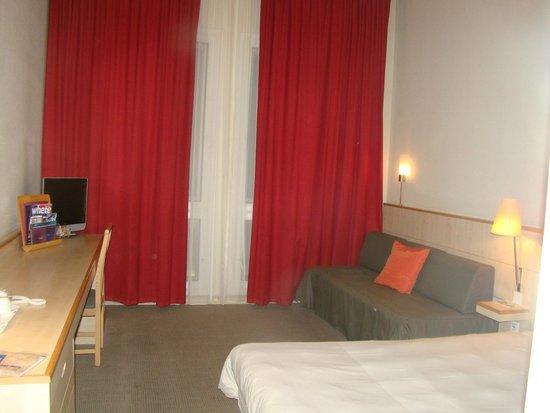 Novotel Budapest Centrum: Quarto do hotel