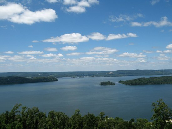 Lake Guntersville: View from Observation Deck in daytime