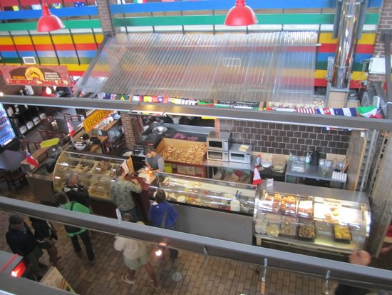 ByWard Market: View from the upper walkway