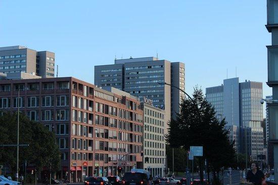 Novotel Berlin Mitte: Região do Hotel
