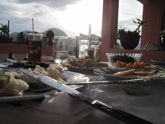 Villa Los Pandaderos: Fin du jour