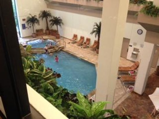 Hilton DFW Lakes Executive Conference Center: Indoor pool area
