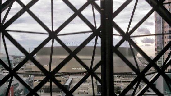 Hyatt Regency New Orleans: View from the elevator