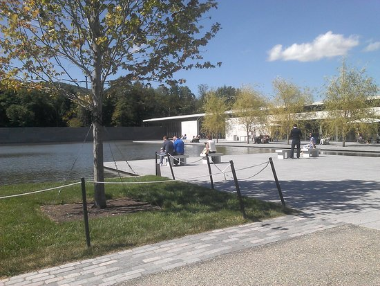 Williamstown, MA: Reflecting pool at the Clark