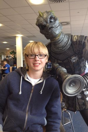 Doctor Who Experience Cardiff Bay: Great aliens