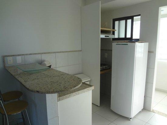 Marsallis Flat Ponta Negra: Mini cozinha