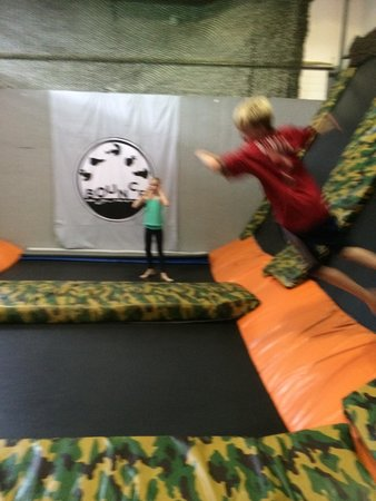 Bounce Acrobatic Academy: Great on a rainy day!