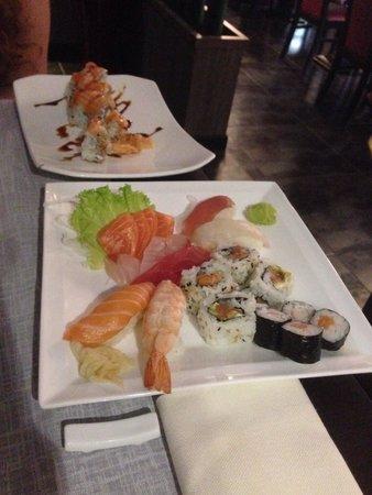 Sushi-Kami : Sushi sashimi e Tiger roll