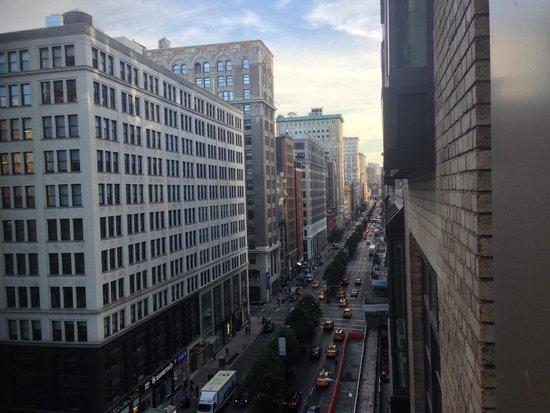 Gansevoort Park Avenue NYC: Vue de la chambre droite