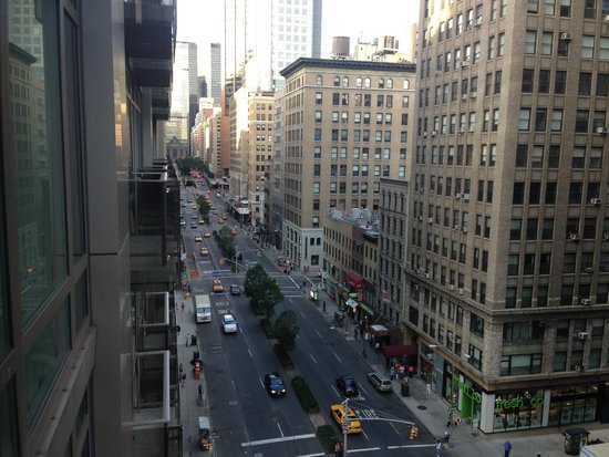 Gansevoort Park Avenue NYC: Vue de la chambre gauche