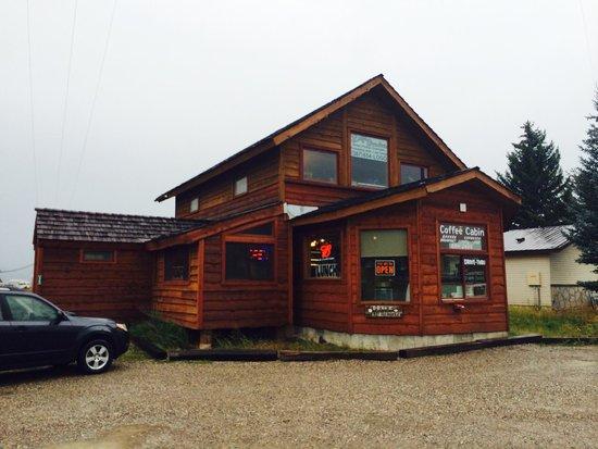 Alpine, WY: Coffee Cabin