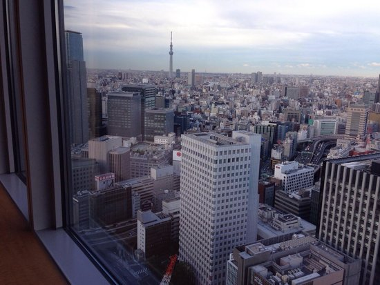 Shangri-La Hotel, Tokyo : スカイツリー側ベイビュー