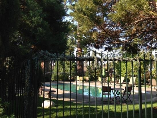 Redwood Hyperion Suites : Large pool in lovely setting.