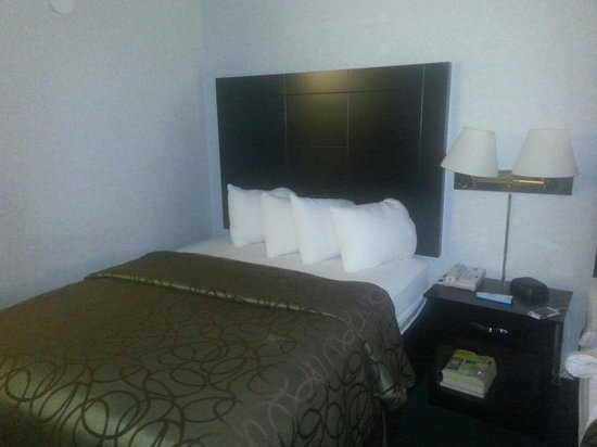 Quality Inn: One of two queen beds ;)
