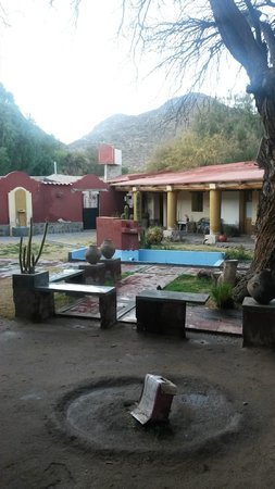 Posada Rural El Capricho: Patio de la posada