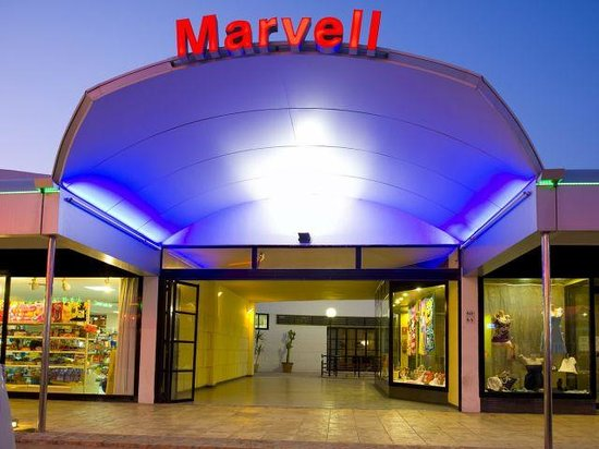 Marvell Club Hotel & Apartaments: the exterior stood out at night beautifuly