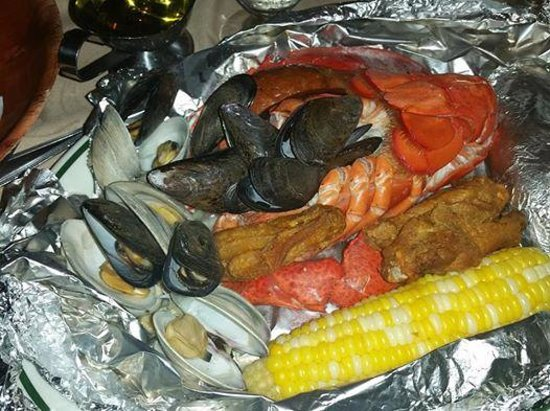 Clinton House: Now this is a Seafood Pot