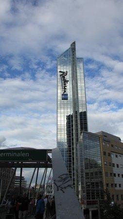 Radisson Blu Plaza Hotel, Oslo: Tallest building in Oslo