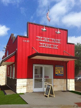Tejas Tacos Texas Ice
