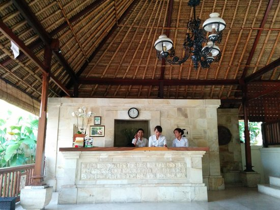 Pertiwi Resort & Spa: Lobby/reception