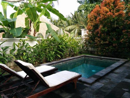 Pertiwi Resort & Spa: Private pool - deluxe pool villa