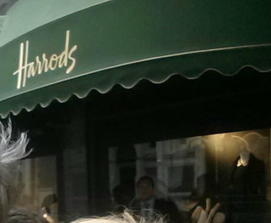 Harrods Awning