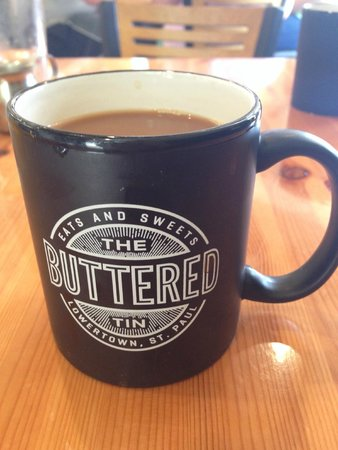 The Buttered Tin: The best coffee in St. Paul