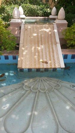Vivanta by Taj - Hari Mahal, Jodhpur: Soothing water spouts
