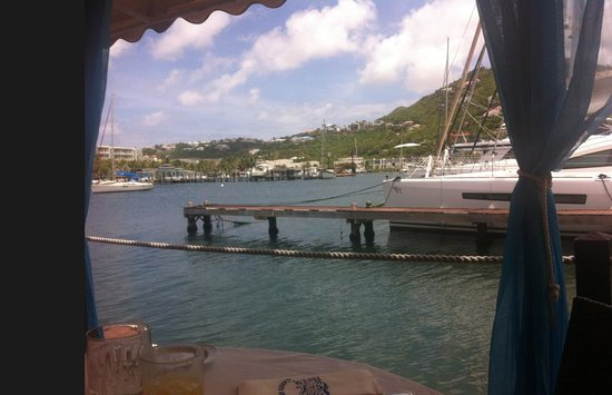 Captain Oliver's: View from our table