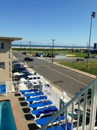 Crystal Beach Motor Inn: View