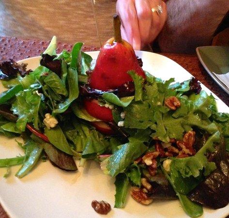 Bistro on Main : Vertical Pear Salad = Divine!