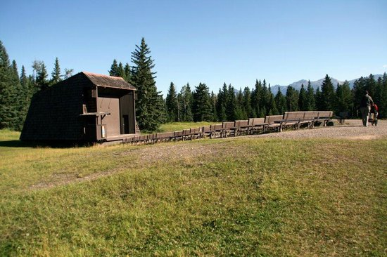 Whistlers Campground: Amphitheatre