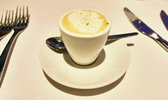 Fish: Oyster espresso