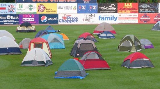 Dodd Stadium: campout
