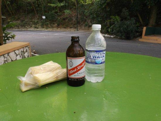 Rainforest Adventures Jamaica : Red Stripe and Sugar Cane