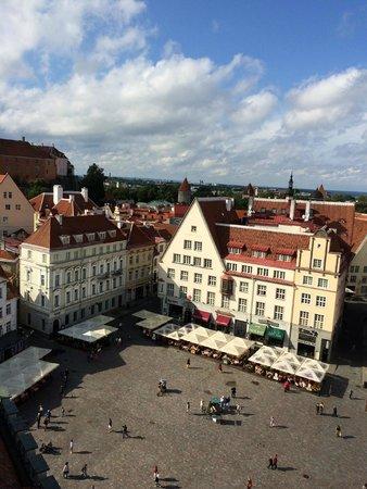 Tallinn Old Town: Praça central