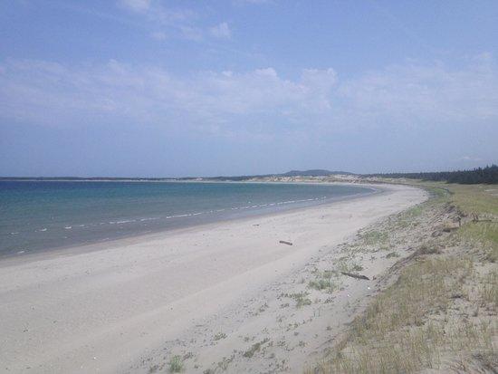 Shallow Bay Beach: 7 Km of beach-all by myself!