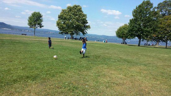 Croton Point Park : Space for your kids to run freely