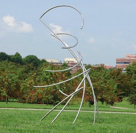 The Arboretum: sculptures
