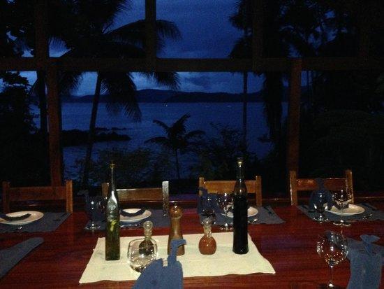 Aguila de Osa Inn : views while dining al fresco