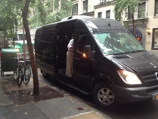 Custom & Private New York Tours Inc: Here is Cliff and the private van we toured in