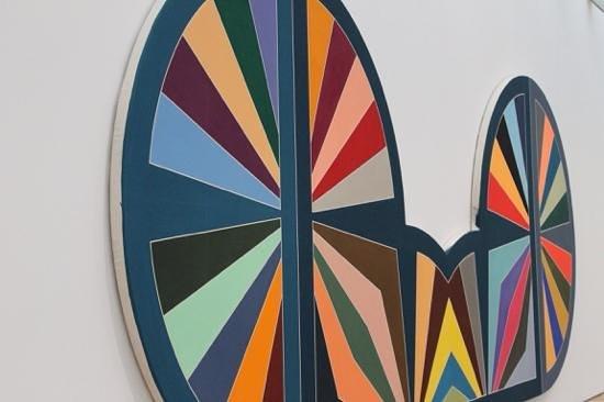 Saint Louis Art Museum: Madinat as-Salam III 1971  by Frank Stella