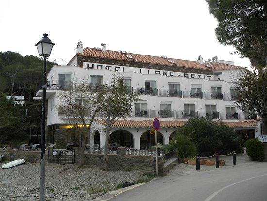 Hotel Llane Petit: Frente del Hotel