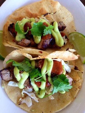 Merriman's Poipu : Fish tacos