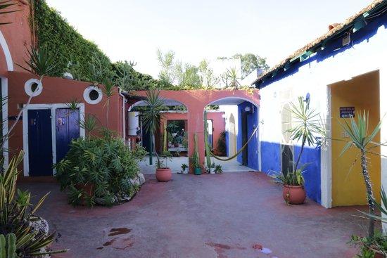 Nomadas Hostel: The yard