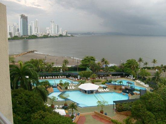 Hilton Cartagena: Vista desde la habitacion