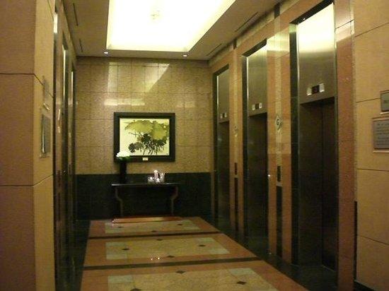 Melia Hanoi: エレベーターロビー