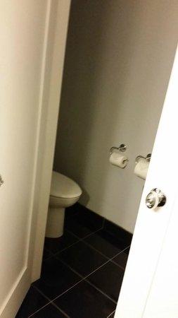 Prestige Oceanfront Resort, BW Premier Collection: Toilet closet corner in suite, BEST WESTERN PREMIER Prestige Oceanfront Resort  |  6929 West Coa